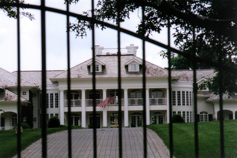 Alan Jackson House Fence Jpg