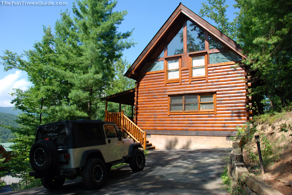 Review of pigeon forge cabin rental brothers cove the for Cabin rentals vicino a nashville tn