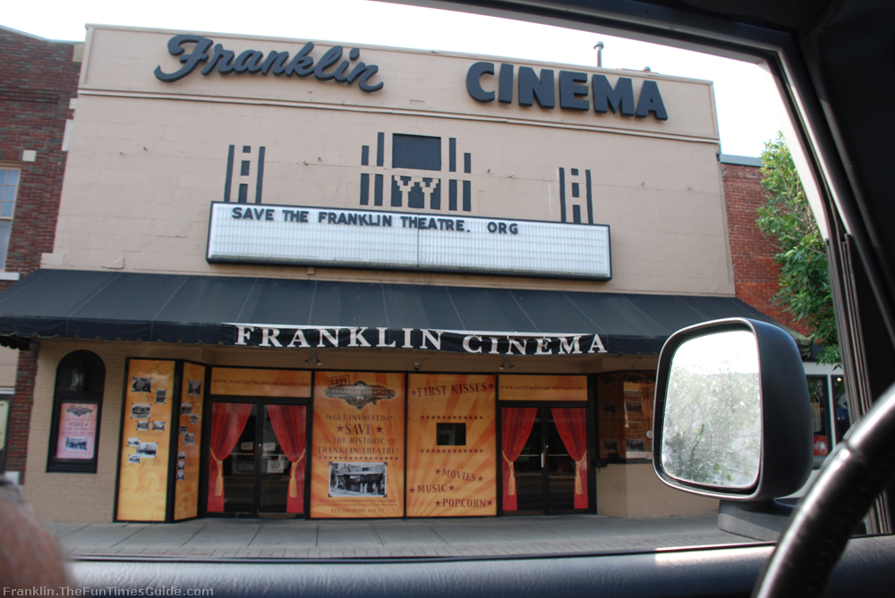 Re opening franklin theatre the downtown movie theater - Downtown at the gardens movie times ...