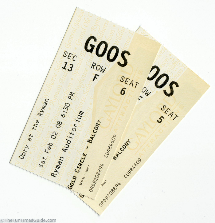 Grand Ole Opry Tickets >> Why I Don T Mind Spending 106 00 For 2 Tickets To The Grand Ole