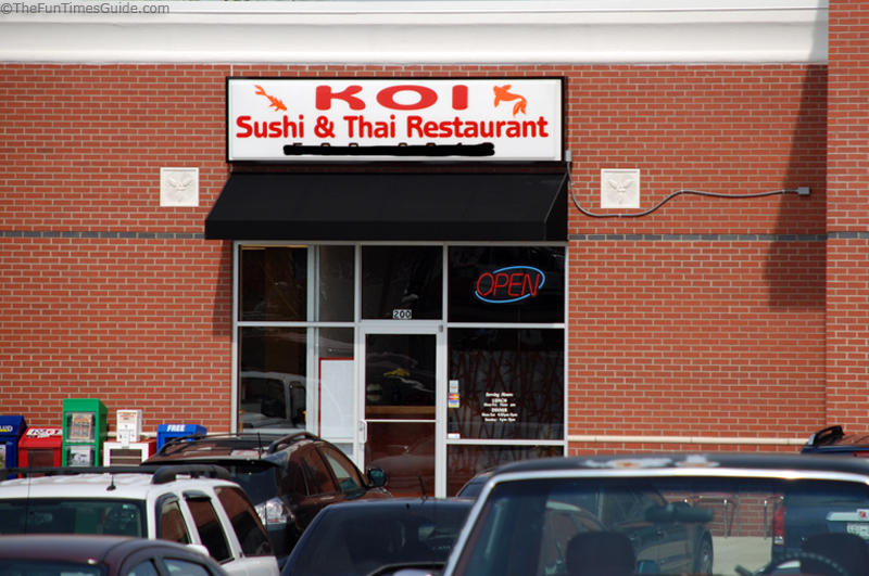 Elegant Koi Sushi Thai Restaurant In Franklin The Franklin Nashville TN Guide