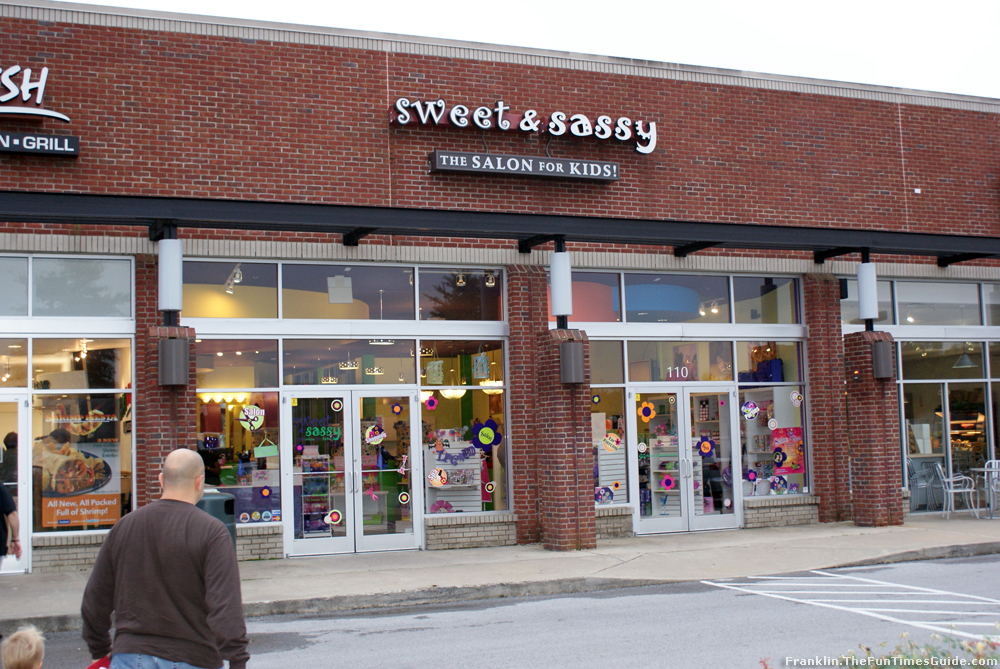 Although Sweet and Sassy is a very girly place, they also do little boy