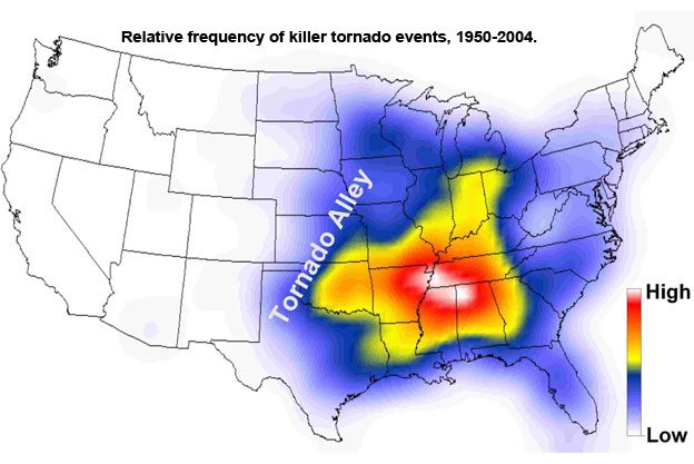 Is Tennessee Part Of Tornado Alley Or Not The Franklin
