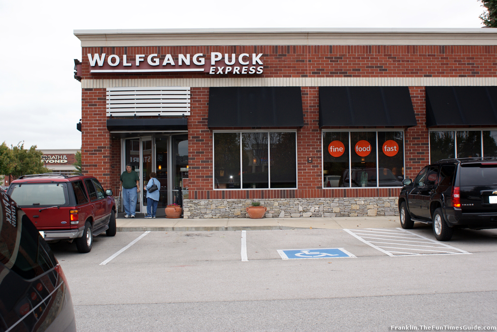 Wolfgang Puck Express In Cool Springs A Review The Franklin Nashville T
